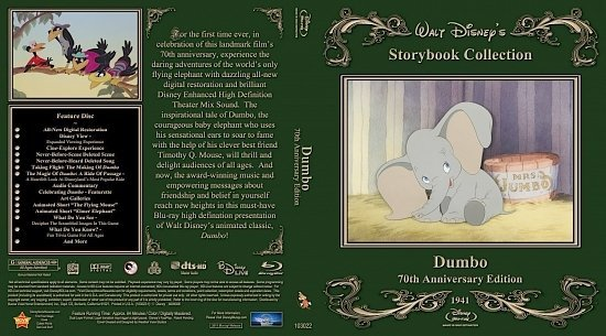 dvd cover Dumbo3