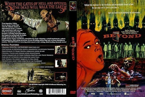 dvd cover The Beyond
