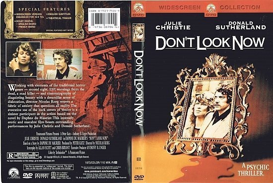 dvd cover Don't Look Now (1973) R1