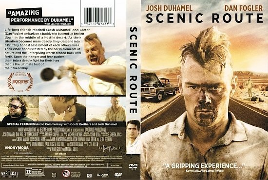dvd cover Scenic Route R1