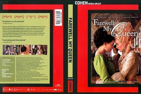 dvd cover Farewell My Queen