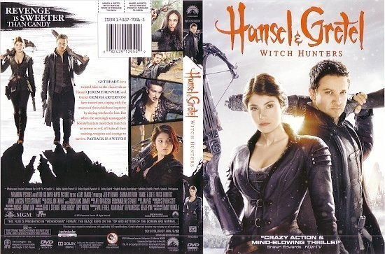 dvd cover Hansel & Gretel WS R1