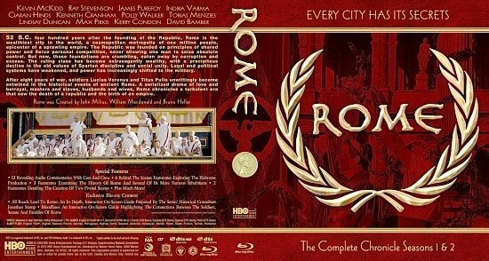 dvd cover RomeComplete25mm