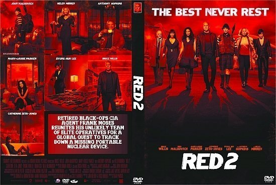 dvd cover Red 2 R1 Custom