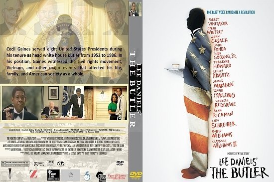 dvd cover The Butler R1 Custom