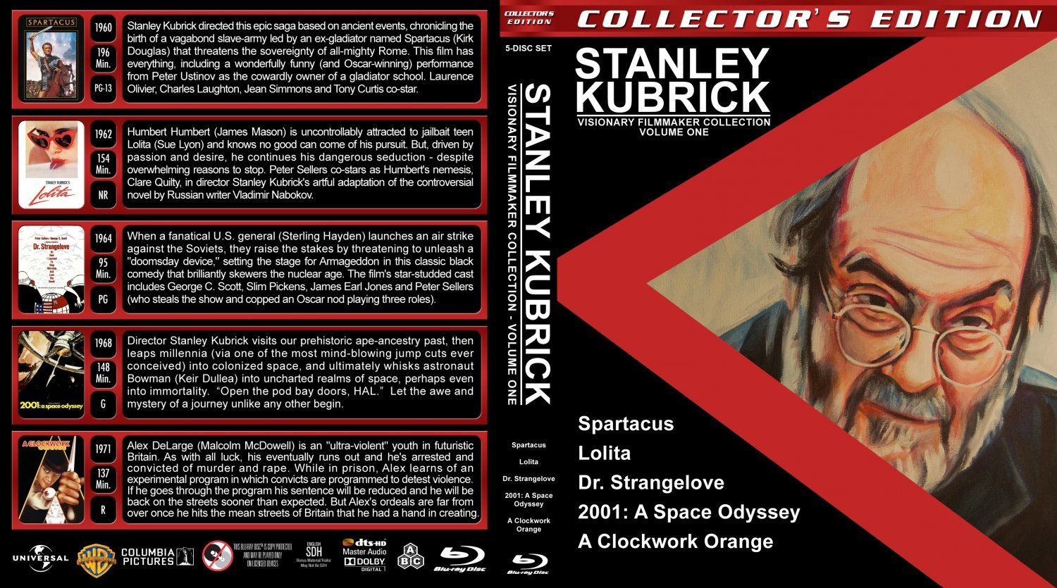 the life and works of stanley kubrick