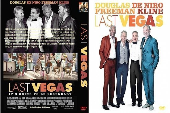 dvd cover Last Vegas R1 Custom