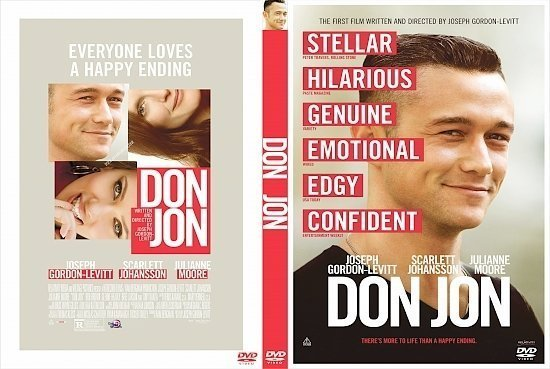 dvd cover Don Jon R0 Custom