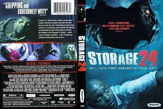 dvd cover Storage 24