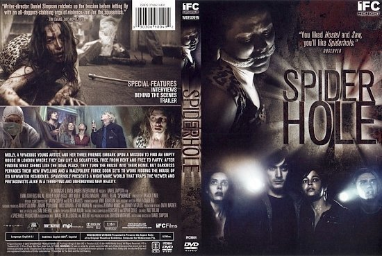 dvd cover Spiderhole