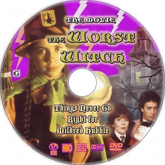 dvd cover The Worse Witch (1986) R1 Custom CD Cover