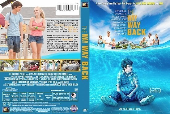 dvd cover The Way, Way Back R1 Custom