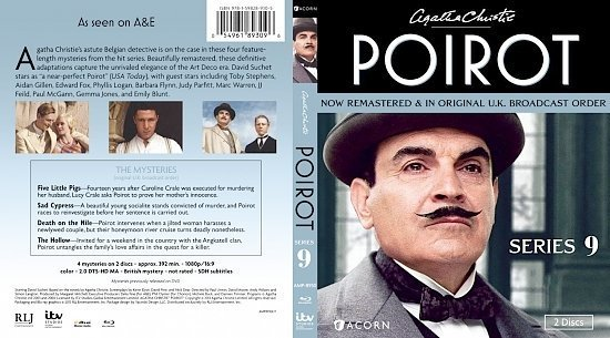 dvd cover Agatha Christie's Poirot Series 9