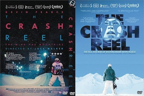 dvd cover The Crash Reel R0