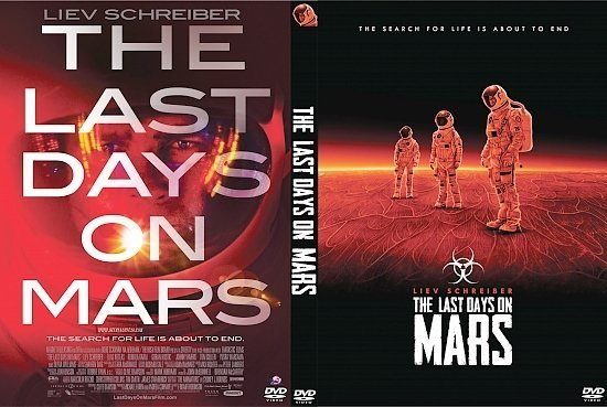 dvd cover The Last Days on Mars R1