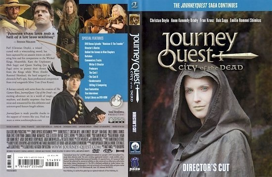 dvd cover Journey Quest