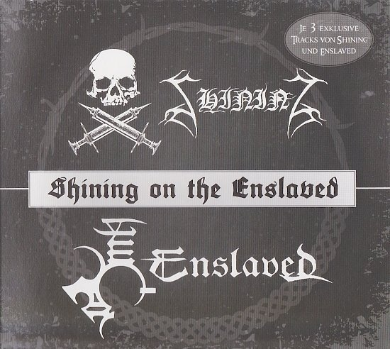 dvd cover Shining & Enslaved - Shining On The Enslaved (Split)