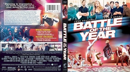 dvd cover Battle Of The Year