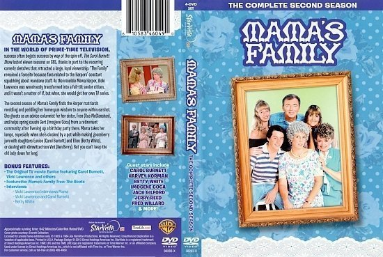 dvd cover Mama's Family Season 2