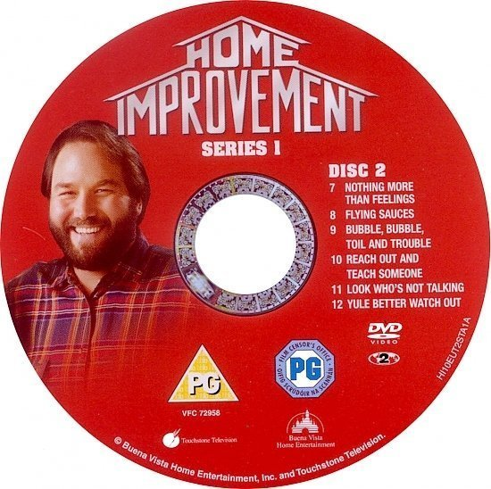 dvd cover Home Improvement: Series 1(1991) R2