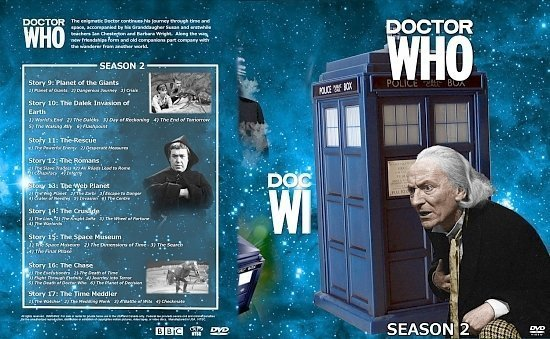 dvd cover Doctor Who Spanning Spine Volume 2 (Season 2)