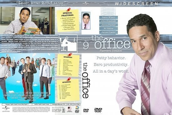dvd cover The Office Season 9