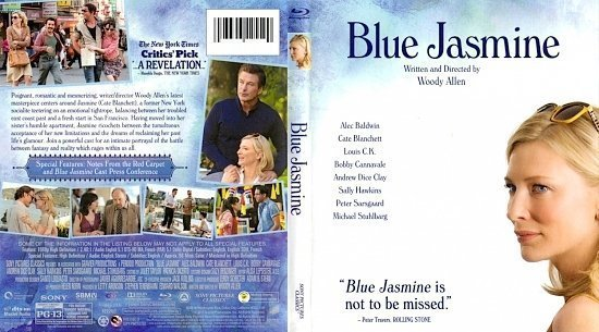 dvd cover Blue Jasmine