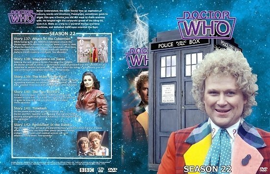 dvd cover Doctor Who Spanning Spine Volume 22 (Season 22)
