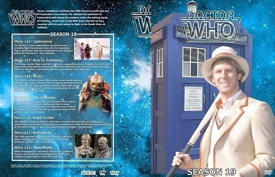 dvd cover Doctor Who Spanning Spine Volume 19 (Season 19)
