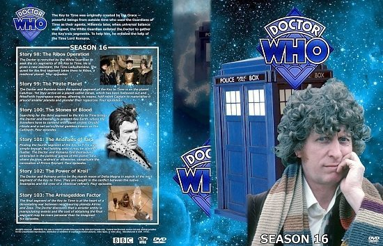 dvd cover Doctor Who Spanning Spine Volume 16 (Season 16)