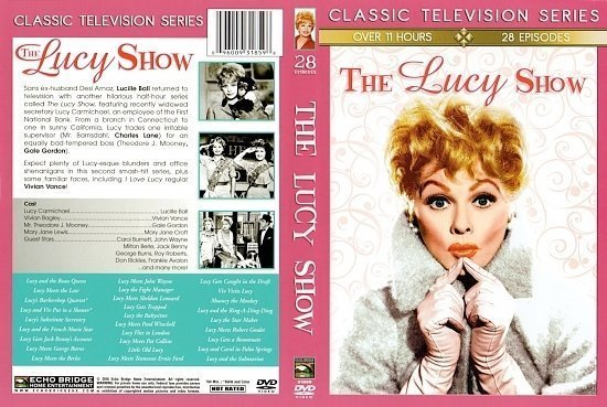 dvd cover The Lucy Show