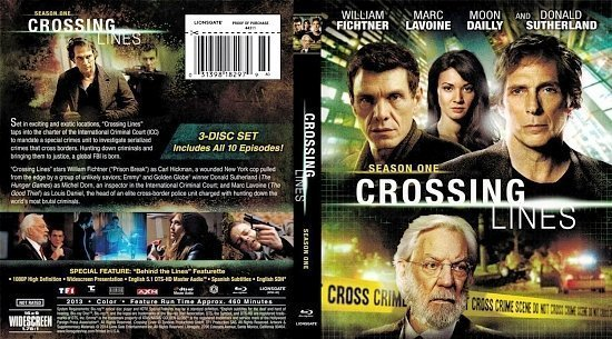 dvd cover Crossing Lines