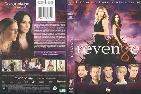 dvd cover Revenge: Season 4 R1 & Label