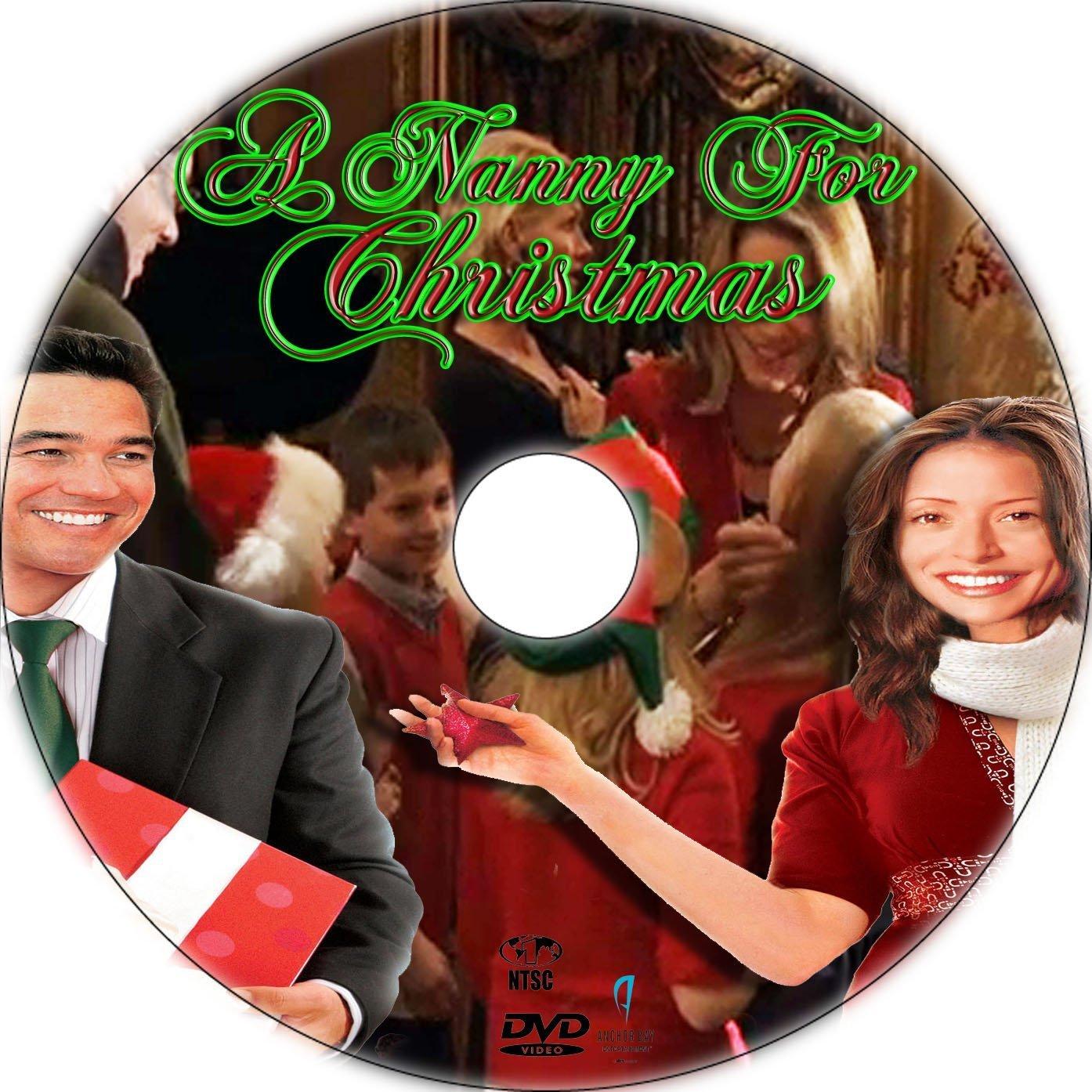 A Nanny For Christmas.A Nanny For Christmas 2010 R1 Custom Dvd Labels Dvd