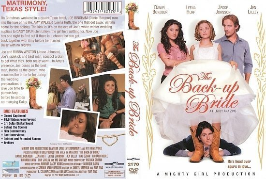 dvd cover The Back Up Bride