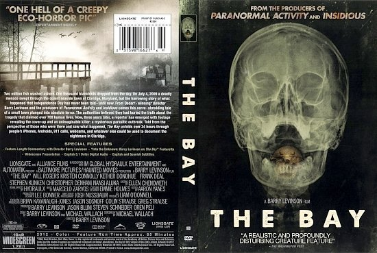 dvd cover The Bay