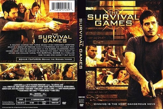dvd cover Survival Games
