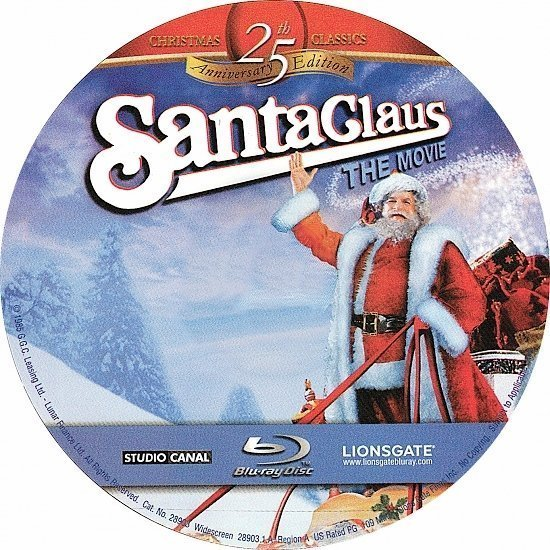 dvd cover Santa Claus The Movie (1985) Blu-Ray