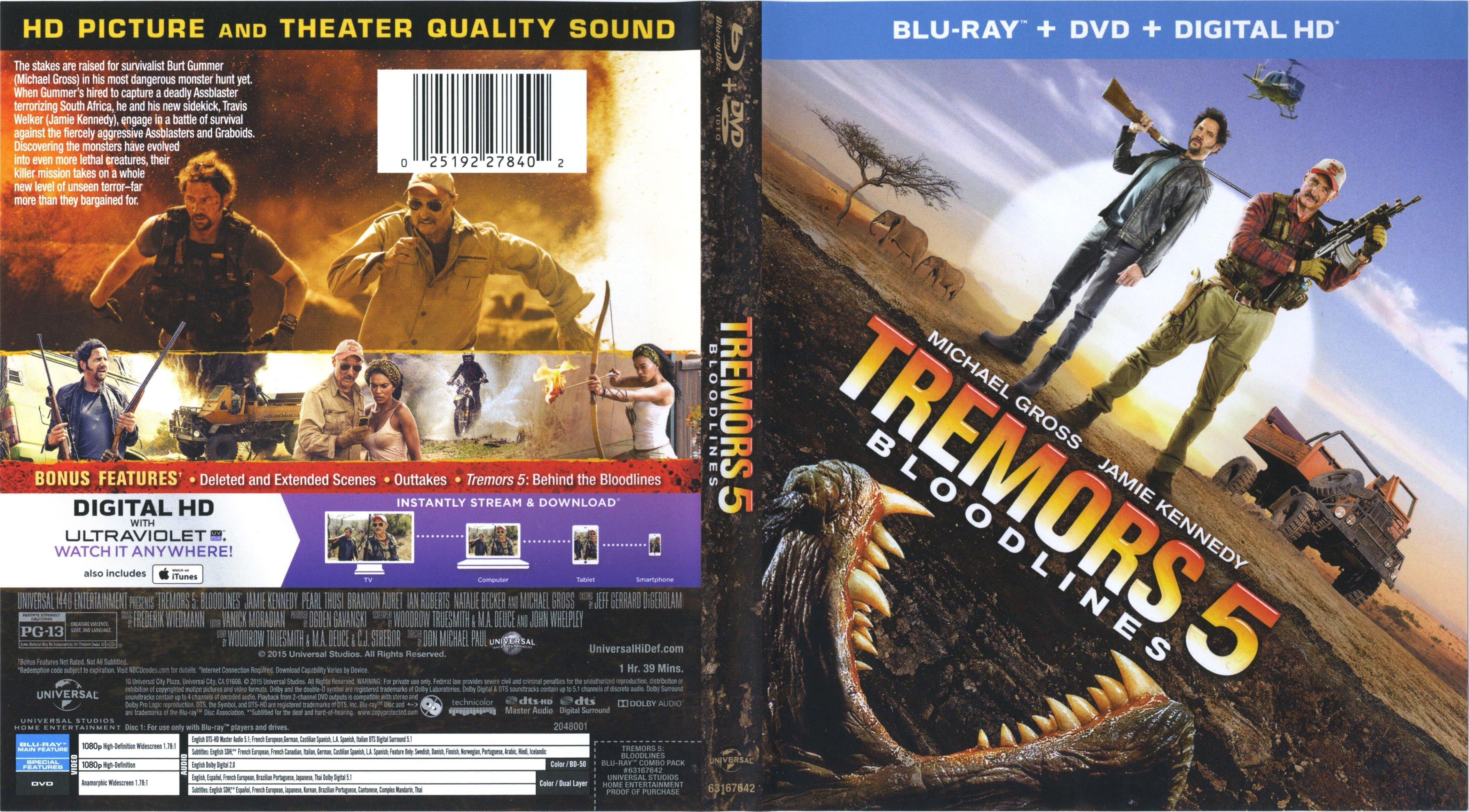 Amazoncom Tremors Collectors Edition Kevin Bacon