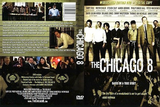 dvd cover The Chicago 8