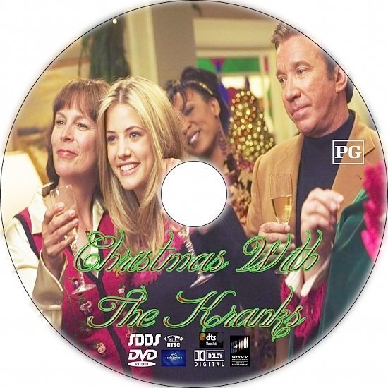 dvd cover Christmas with the Kranks (2004) R1