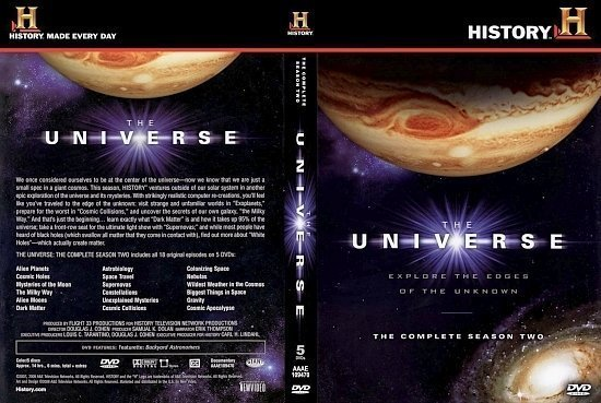 dvd cover Universe 2