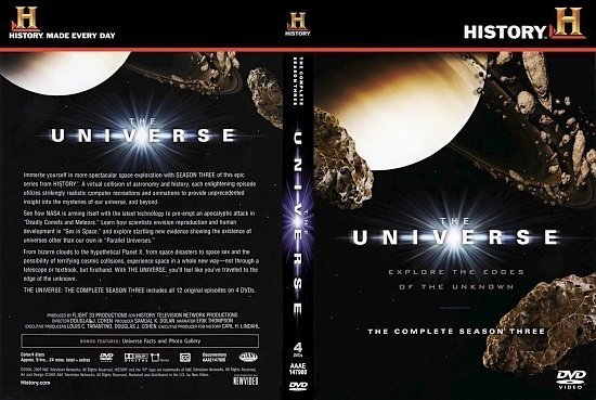 dvd cover Universe 3
