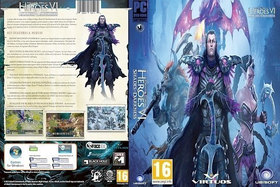 dvd cover Might and Magic Heroes VI Shades of Darkness