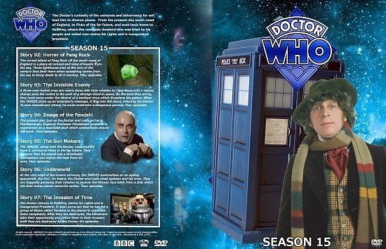 dvd cover Doctor Who Spanning Spine Volume 15 (Season 15)