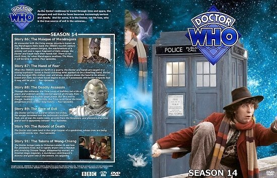 dvd cover Doctor Who Spanning Spine Volume 14 (Season 14)