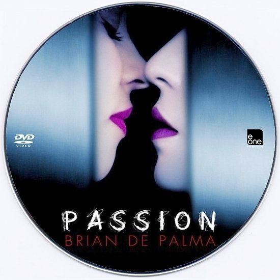 dvd cover Passion Custom DVD Label