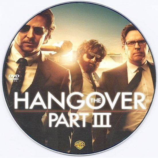 dvd cover The Hangover Part III Custom DVD label