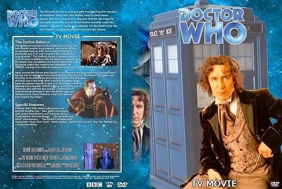 dvd cover Doctor Who Spanning Spine Volume 27 (TV Movie)
