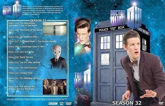 dvd cover Doctor Who Spanning Spine Volume 34 (Season 32 or Series 6)